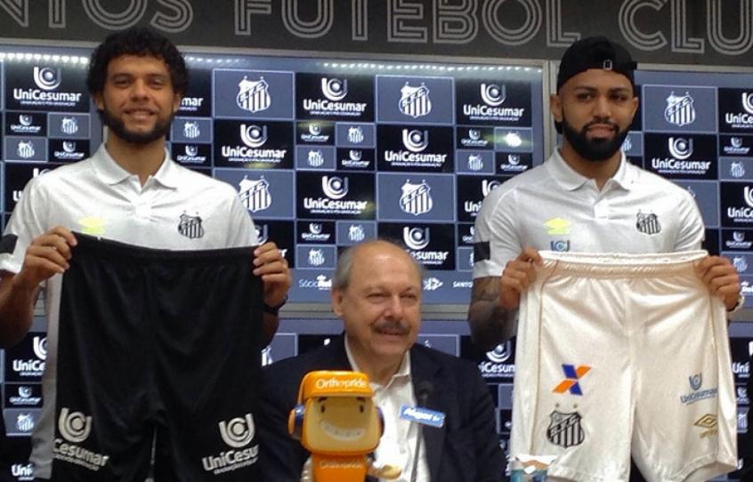Santos acerta patrocínio com a Unicesumar para estampar calção  14ef36279f048