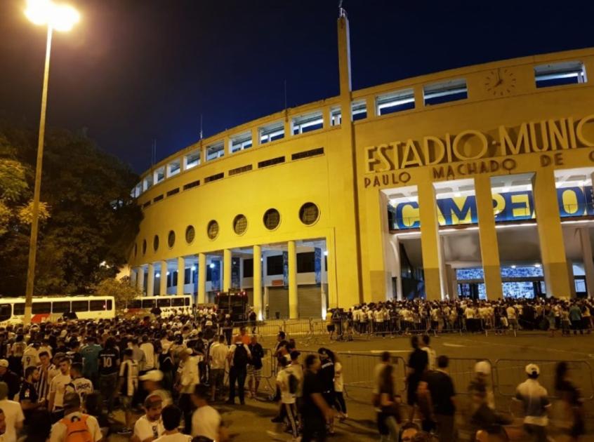 Santos x Independiente  20.500 ingressos vendidos para jogo no Paca ... 01deb74fda69b
