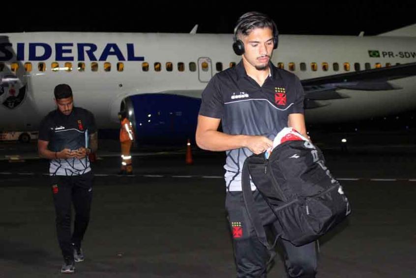 Andrey na chegada ao Equador