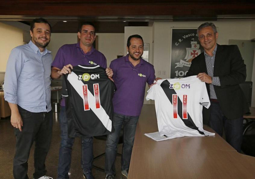 Vasco fecha novo patrocínio e marca será exibida já contra o São ... 9f1021fc5de24