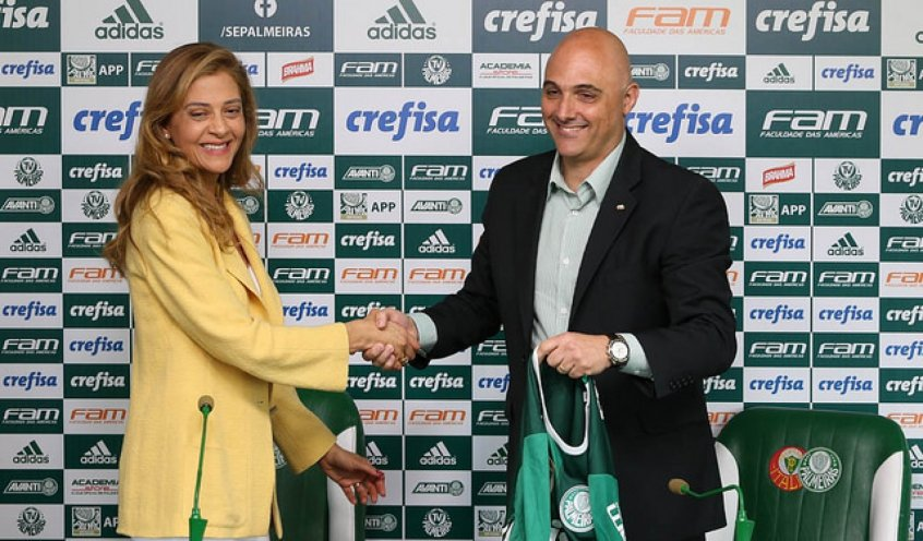 Palmeiras renovará com a Crefisa e pode receber R$ 400 mi em três anos