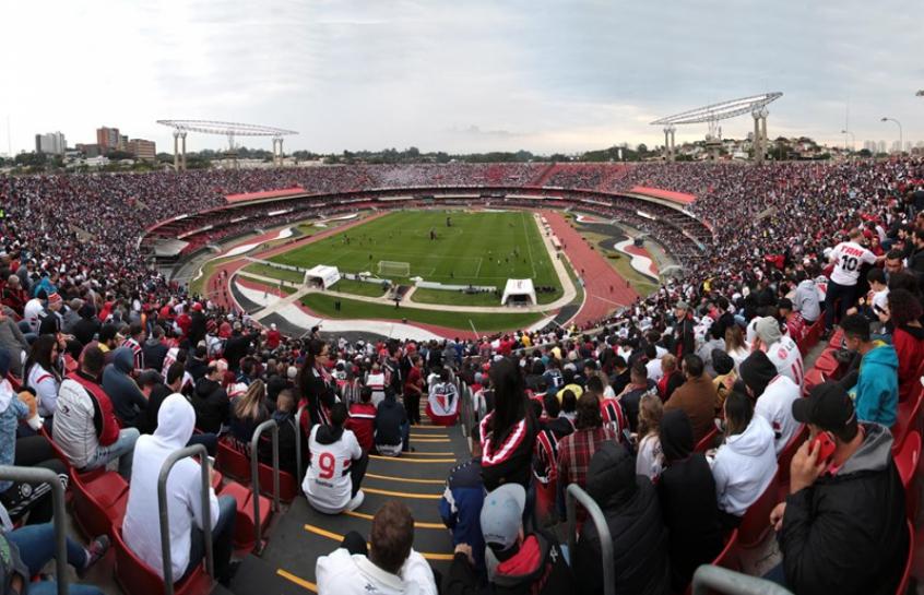 Torcida do São Paulo tem comparecido em grande número ao Morumbi nos  últimos jogos da equipe f087078a361ec