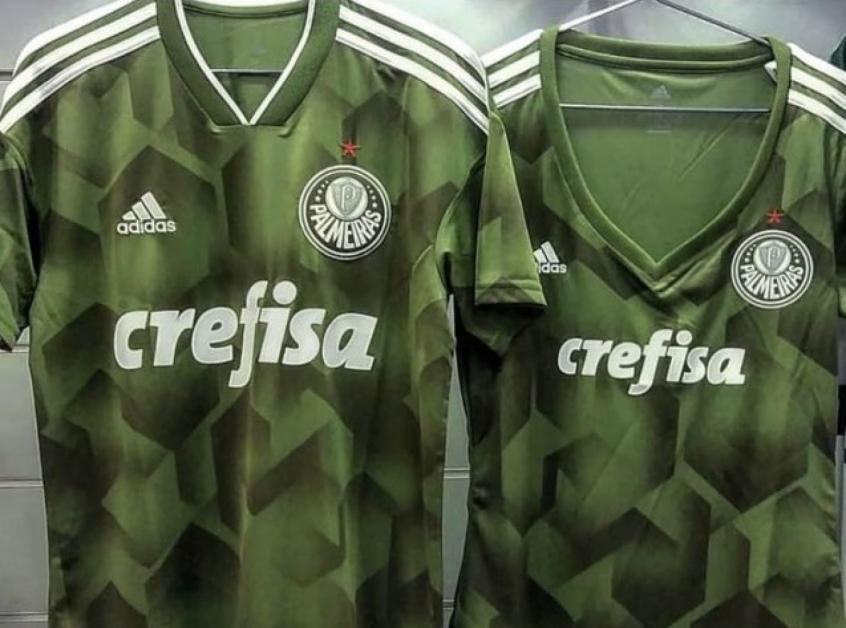 29627abdc3f4b Novo verde  veja foto do uniforme de despedida da Adidas no ...