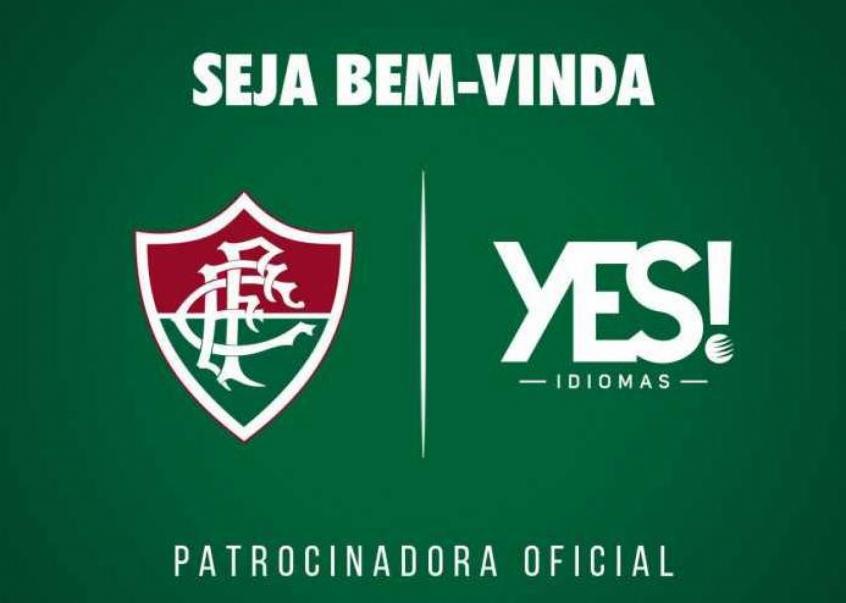 972abaed90 Novo patrocinador  Fluminense acerta com a Yes! até o fim de 2018 ...
