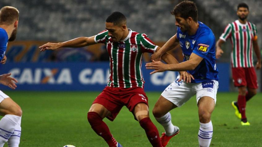 Gilberto e Lucas Silva - Cruzeiro x Fluminense