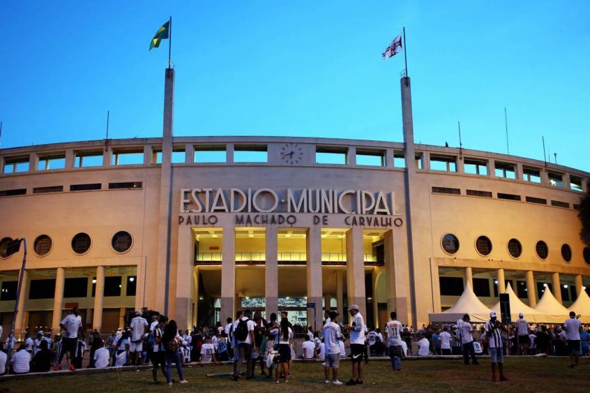 Menos de 6 mil ingressos vendidos para Santos x Chape no Pacaembu ... 6218701b59875