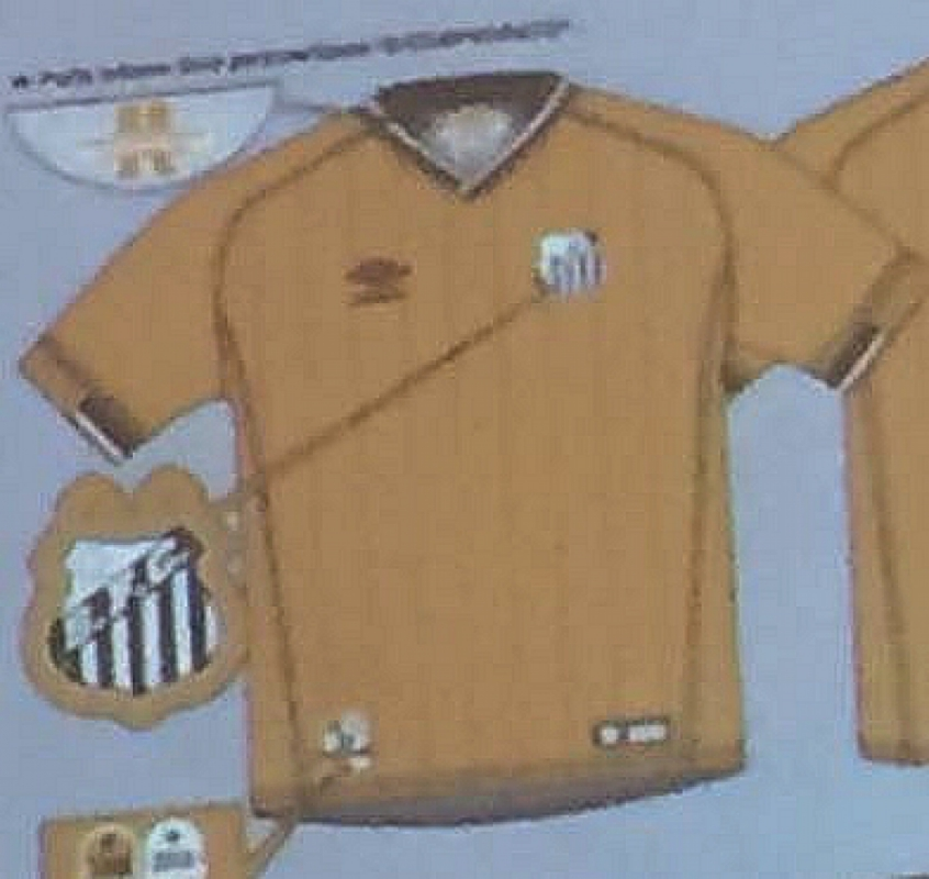 Conselho do Santos aprova terceiro uniforme e51fc570ef745