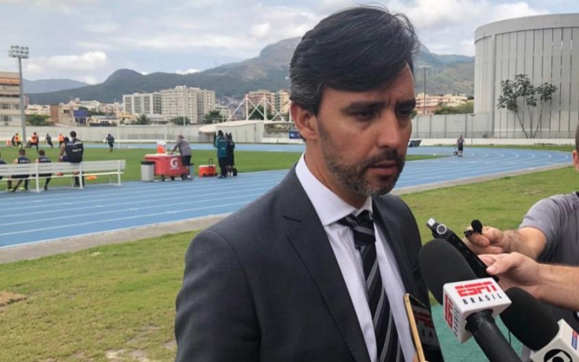 VP de futebol do Botafogo pede ajuda da torcida e fala sobre atraso ... 1faa2267bf85f