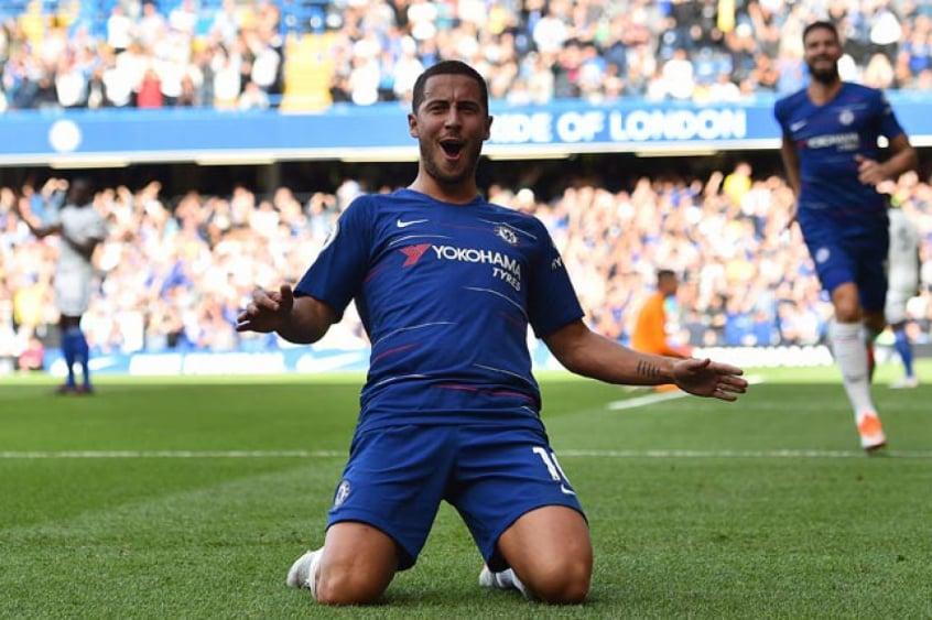 Hazard - Chelsea x Cardiff