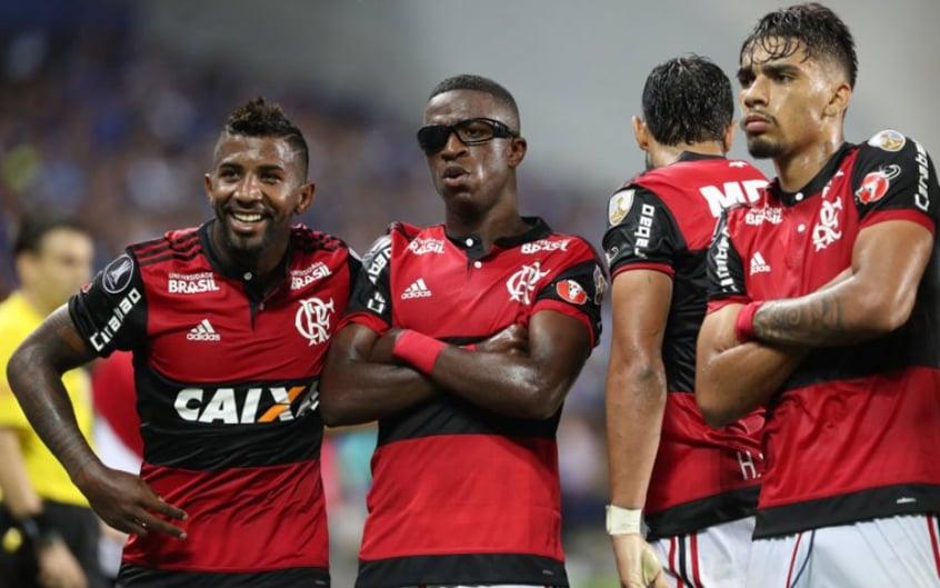 Emelec 1x2 Flamengo - Fase de Grupos Libertadores