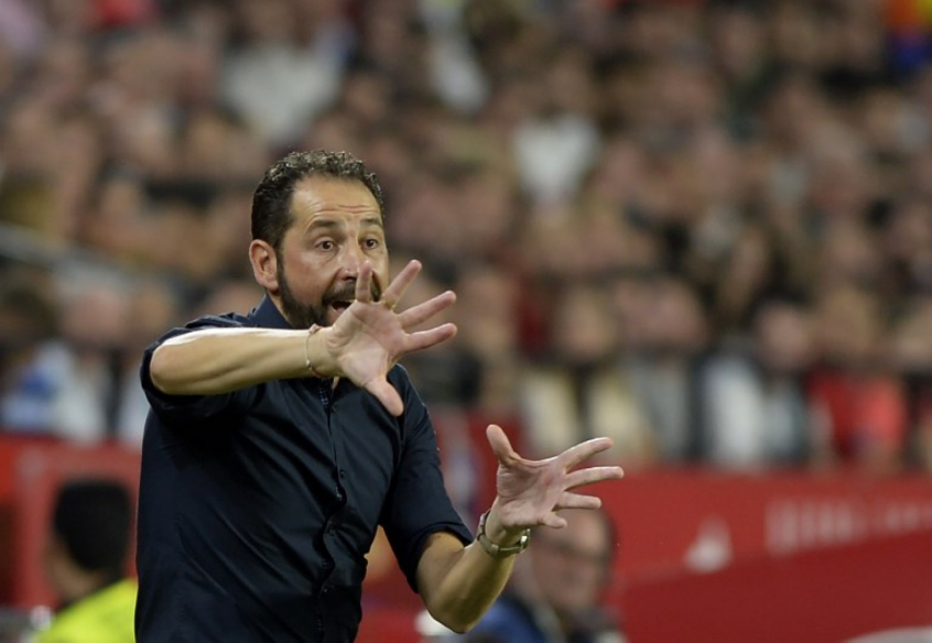 Pablo Machín - Sevilla x Real Madrid