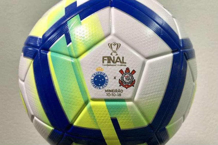 Bola da final da Copa do Brasil é apresentada pela CBF