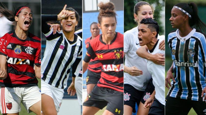 Agora vai  Clubes da Série A ensaiam  seriedade  no futebol feminino ... c26b3cf3cebe4