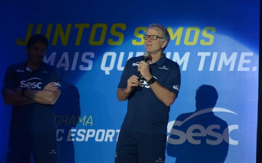 Sesc RJ apresenta seus times de vôlei para a temporada 2018-19
