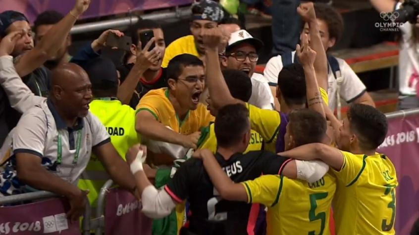 Brasil leva ouro no futsal e encerra os Jogos da Juventude com 15 ... 83d9fd2370d8e