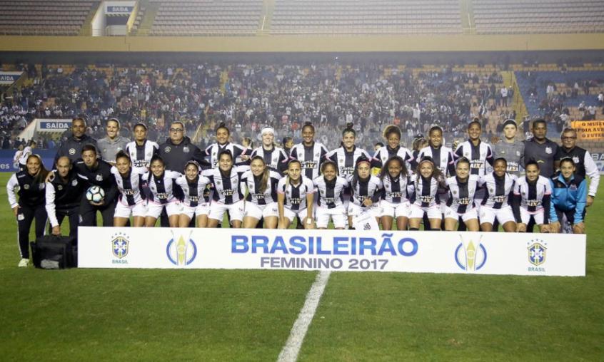 O Santos foi o campeão do Campeonato Brasileiro de Futebol Feminino em 2017  (Foto  DIvulgação) 8355f45fbae87