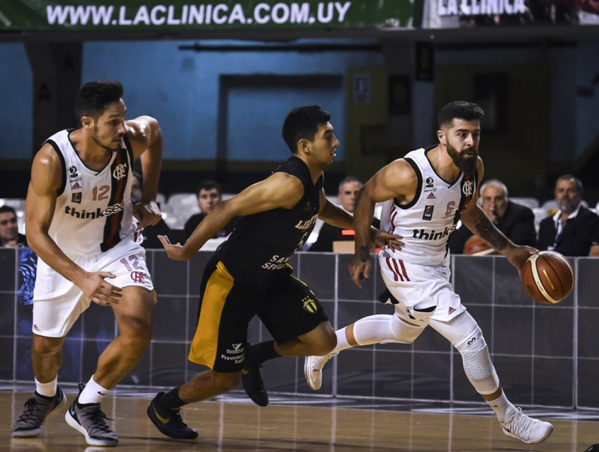 Flamengo x Libertad - Liga Sul-Americana de Basquete