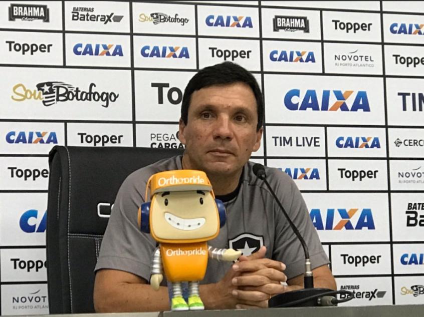 Zé liga o alerta no Botafogo