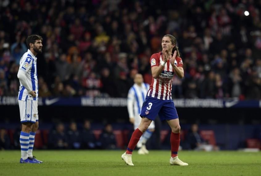 5f87da0917 Atlético de Madrid busca renovação de contrato com Filipe Luís
