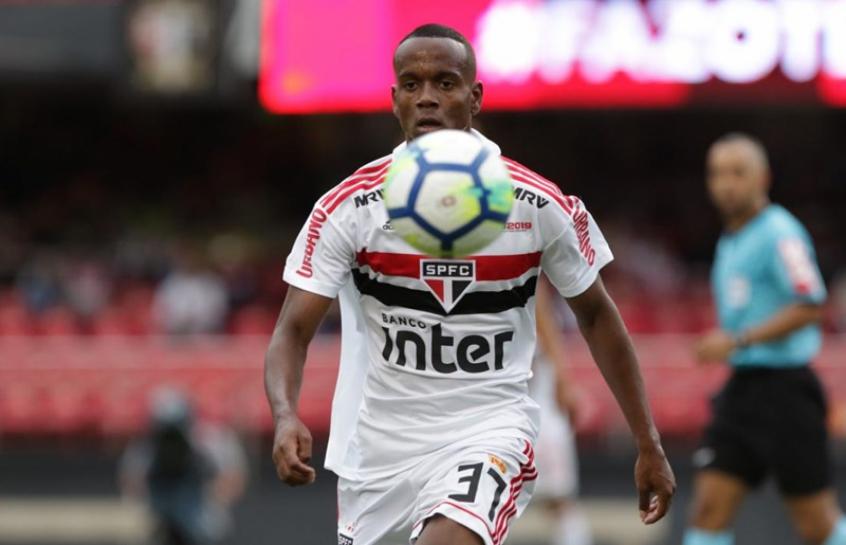 Helinho fez sua estreia como profissional no último fim de semana e marcou o segundo gol do São Paulo na partida