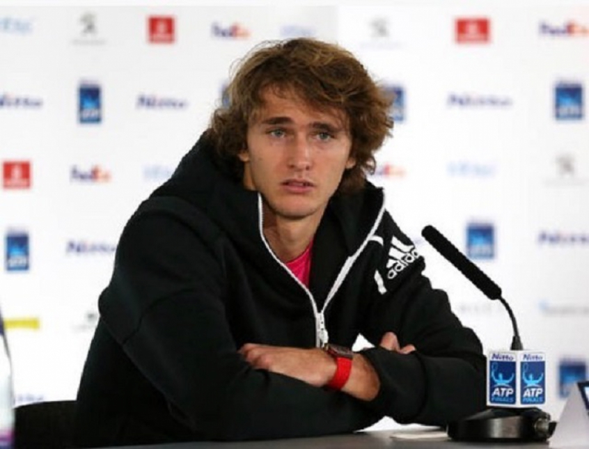 Zverev participou do Media Day