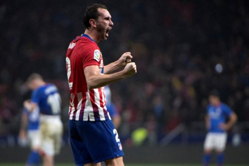 Diego Godín - Atlético de Madrid x Athletic Bilbao