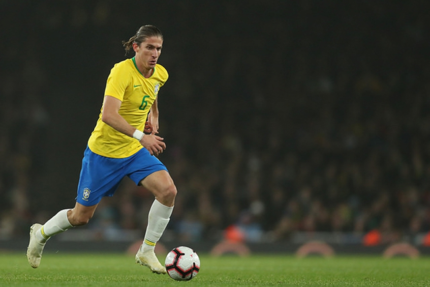 Brasil x Uruguai - Filipe Luís