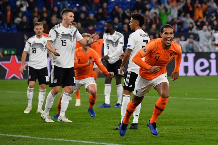 133821888a904 Holanda empata com Alemanha no fim e avança na Liga das Nações