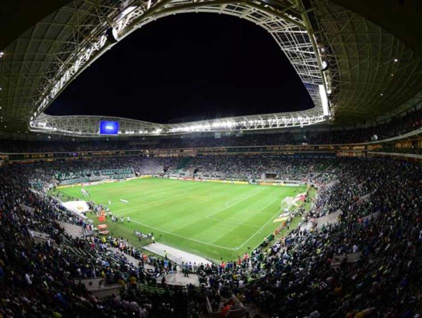Palmeiras mandará sua primeira partida no Allianz Parque nesta temporada na  próxima quarta-feira (Divulgação) 0ce4dabc8f691