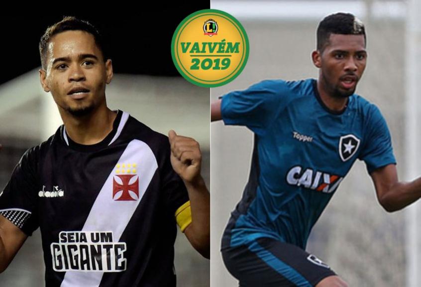 d267b3fec9 Montagem VAIVÉM Yago Pikachu (Vasco) e Matheus Fernandes (Botafogo)