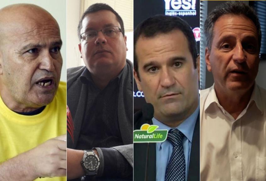 Montagem - José Carlos Peruano, Marcelo Vargas, Ricardo, Lomba, Rodolfo Landim