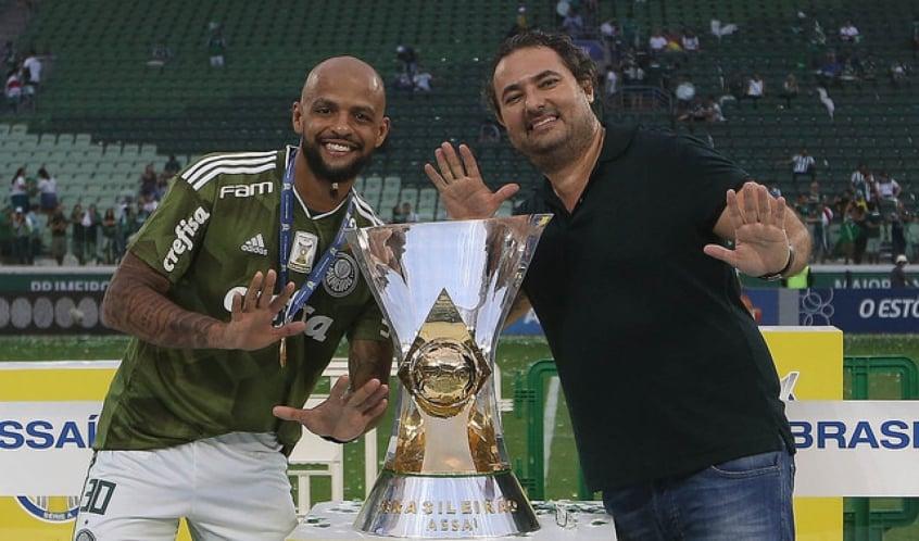 Felipe Melo agradece ao diretor de futebol Alexandre Mattos pelo apoio em seu pior momento, no ano passado
