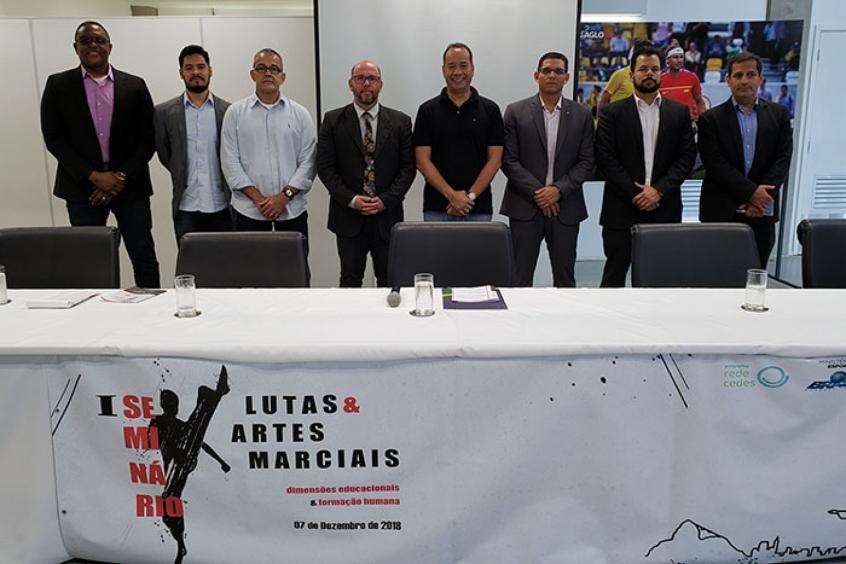 466f4eeb2 Ministério do Esporte e CEDES realizam seminário sobre lutas