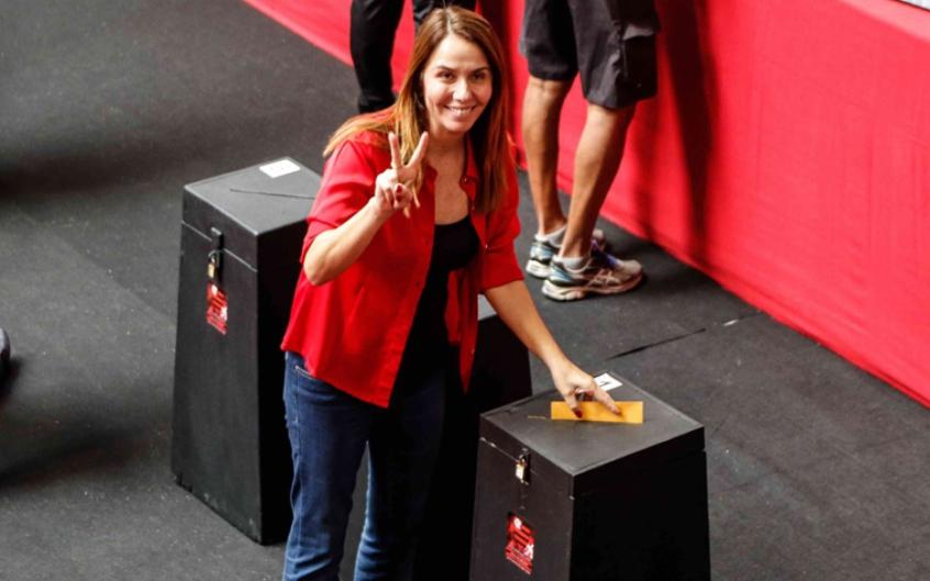 Eleições no Flamengo - Patricia Amorim