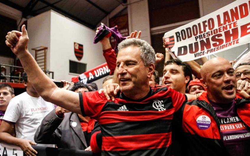 Presidente Rodolfo Landim oficializa que tentará a reeleição no Flamengo |  LANCE!