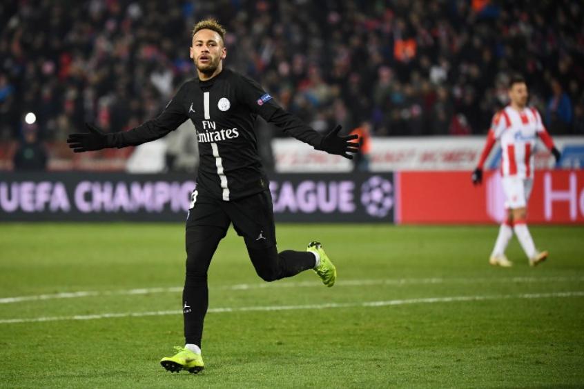 Neymar - Estrela Vermelha x PSG