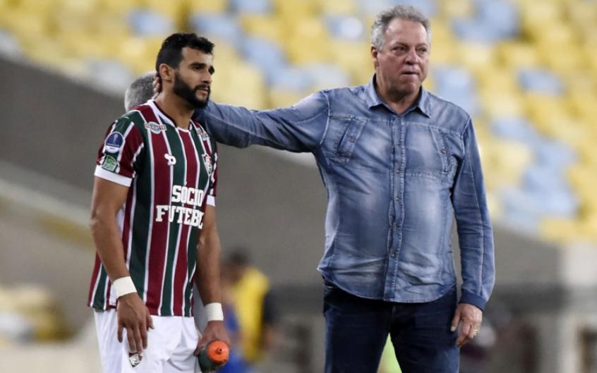 Abel Braga e Henrique Dourado - Fluminense