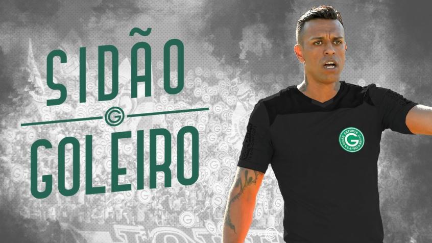 Resultado de imagem para SIDÃO GOLEIRO GOIÁS