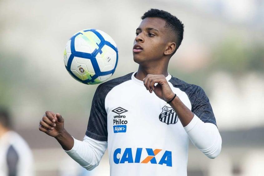 Santos quer permanência de Rodrygo até dezembro e faz pedido ao Real ... 0ae407987f7f3