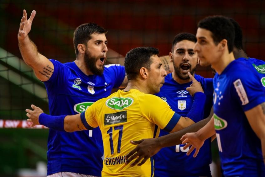 Sada Cruzeiro vence São Judas Vôlei pela Superliga