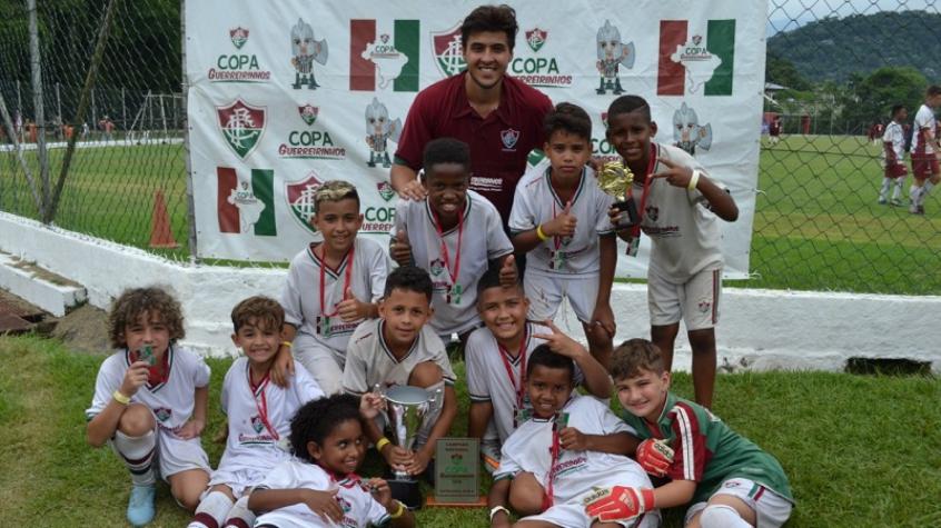1c4cb24987 Copa Guerreirinhos reúne mais de mil meninos em Xerém