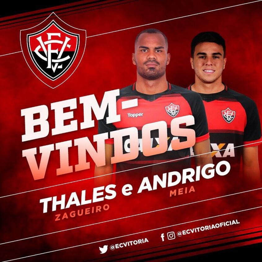Vitória anuncia dois reforços para a temporada 2019  5867e35c53ad9