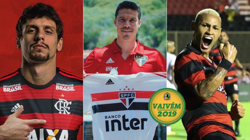 Rodrigo Caio no Fla  Hernanes volta para o São Paulo 63acddee819b9