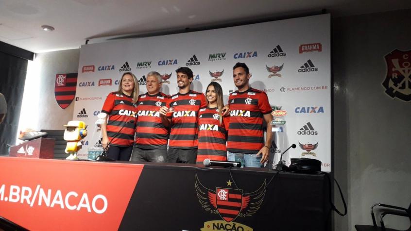 Rodrigo Caio chega ao Fla motivado   Quem não sonha em jogar aqui ... 33ca37293a31f