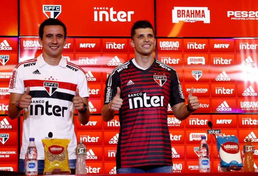 Com Hernanes e Pablo, São Paulo eleva o patamar para 2019