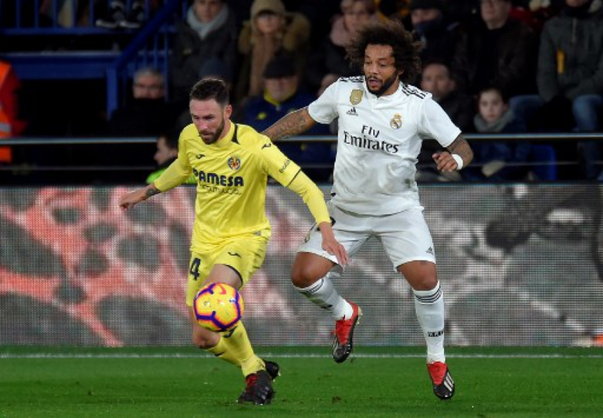 Marcelo e Layún - Villarreal x Real Madrid