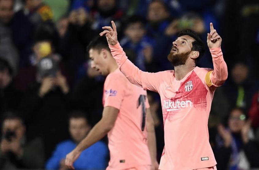Messi fica a um gol de feito inédito mas ainda persegue marca de ... 4850f7d19150c