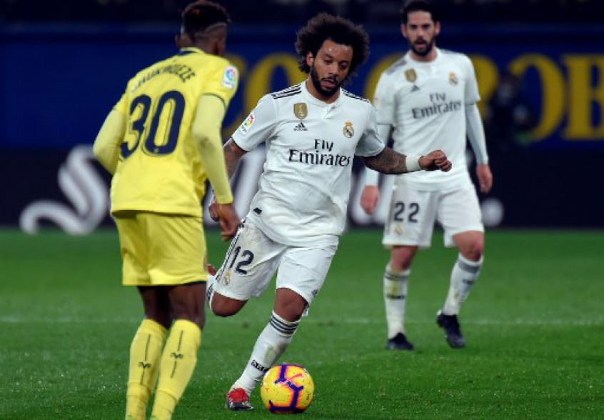 Marcelo - Villarreal x Real Madrid