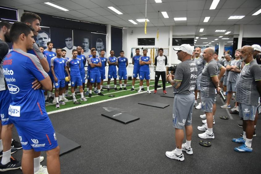Dirigentes e jogadores do Santos não escondem expectativa com ... 40b6380f22ab3