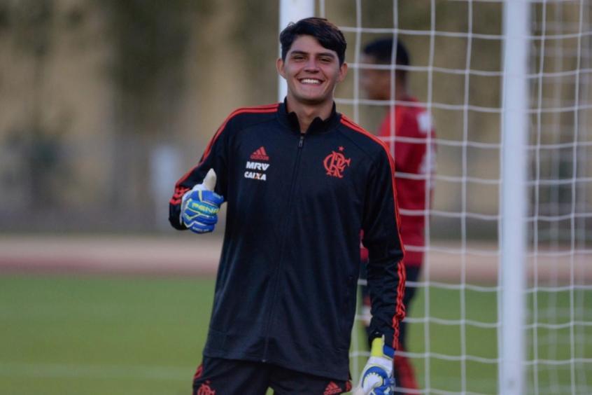Depois de quase desistir, João Fernando, jovem goleiro, chega a Florida Cup